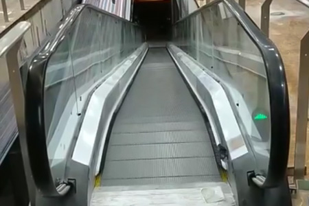 Moving sidewalk video