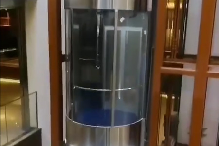 Sightseeing elevator video